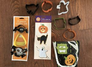 Nine Halloween Cookie Cutters LOWERED PRICE! for Sale in Hollywood, FL