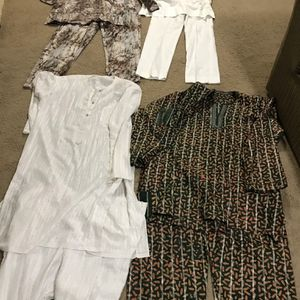 Available 4 Traditional African Clothing Sets All For$40 All Pick Up Gaithersburg Md20877 for Sale in Montgomery Village, MD