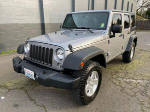 2014 Jeep Wrangler Unlimited for Sale in Lynnwood, WA