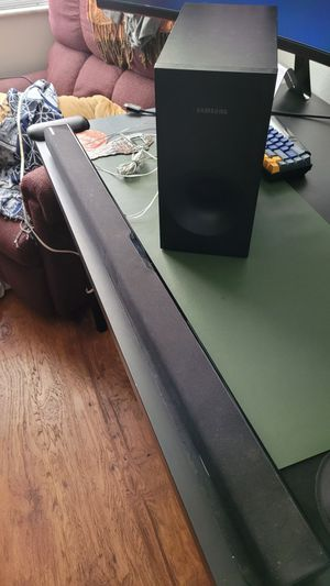 Samsung soundbar for Sale in Tampa, FL