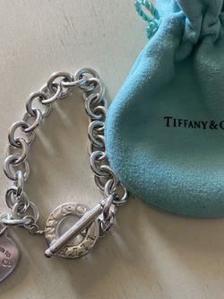 Tiffany & CO Heart Tag Toggle Bracelet for Sale in Fort Smith,  AR