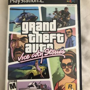 GTA Gran Theft Auto Vice City Stories PlayStation 2 for Sale in Pompano Beach, FL