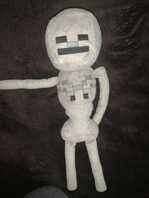 Minecraft Skeleton Plushy for Sale in City of Industry, CA