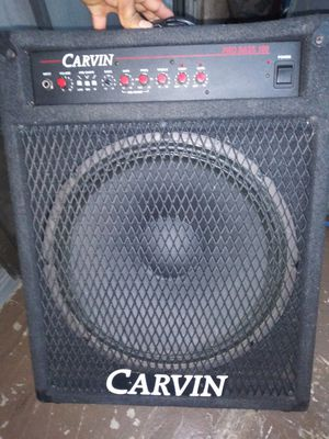 Bass for guitar 15 in CARVIN ? Everything in great condition $120 for Sale in Los Angeles, CA