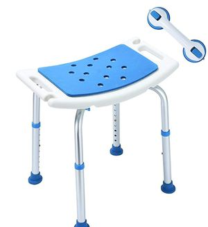 shower stool with support bar,,supports up to 300 pound for Sale in Ontario, CA