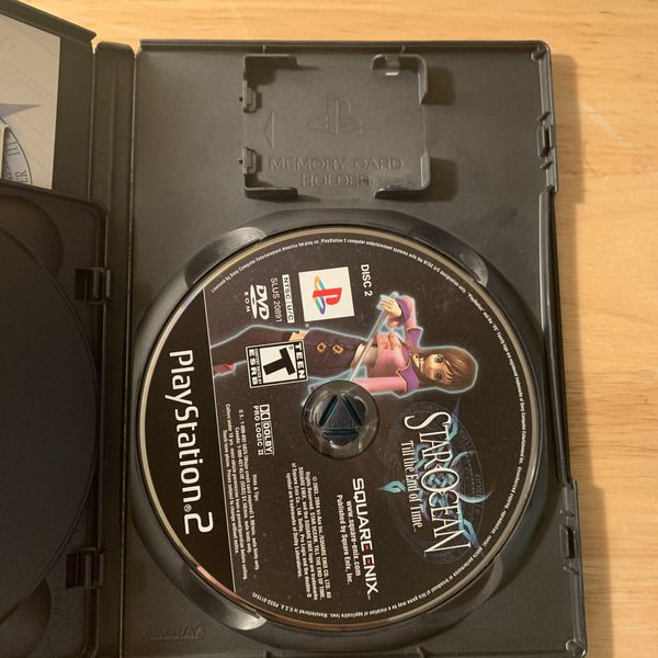 Super Dragonball Z, Star Ocean Til The End of Time, & The Warriors Playstation 2 (PS2) Bundle