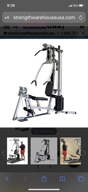 Home gym Powerline BSG10x 1 year old for Sale in Fort Lauderdale, FL