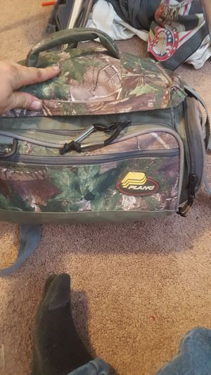 plano tackle bag full of fishing gear for Sale in Murray, UT