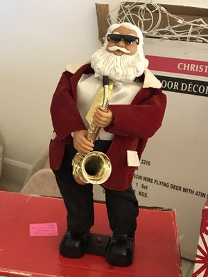 Dancing saxophone playing Santa for Sale in Miami, FL