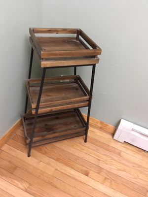 Wooden shelf unit for Sale in Woodbridge Township, NJ