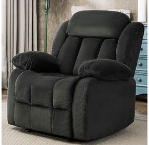 ANJ Breathable Fabric Recliner Chair, Classic Single Sofa Home Theater Seating (Forest Green) R9835B51-D144 for Sale in Pico Rivera, CA