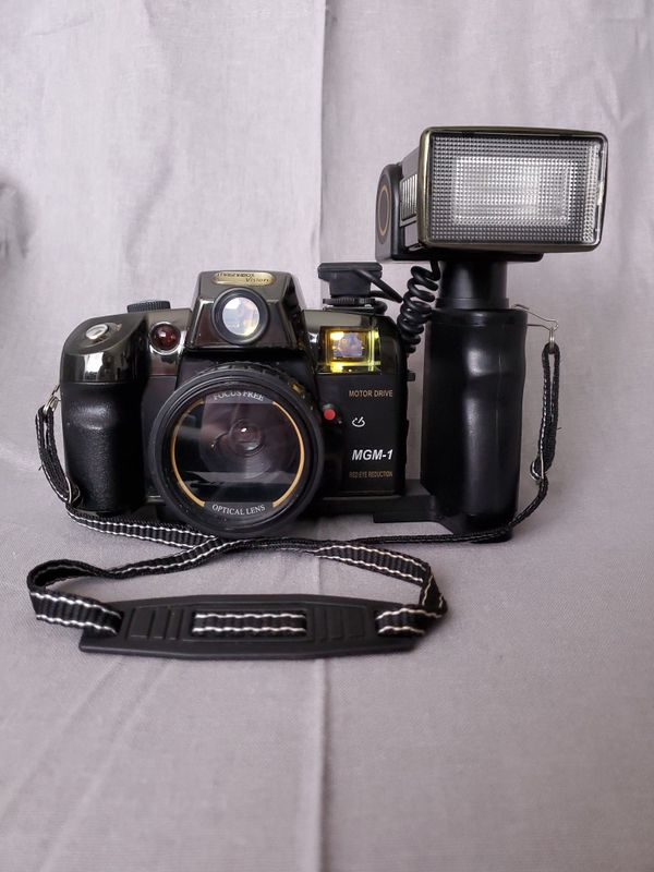 Vintage camera and video equipment (magnabox, beston, raynox)