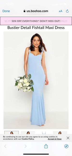 Blue long dress for Sale in Arlington Heights, IL