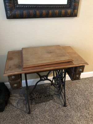 Antique German Sewing Machine Table for Sale in Las Vegas, NV