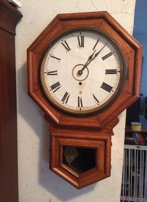 Antique Oak Wall Clock for Sale in Owings, MD
