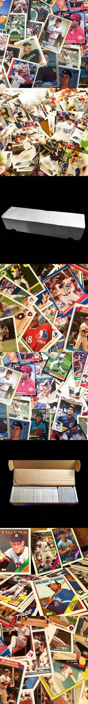 1700+ Used Baseball Card Box Lot for Sale in Arlington, WA