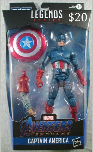 Marvel Legends Captain America Collectible Action Figure Toy with Fat Thor Build a Figure Piece for Sale in Chicago, IL