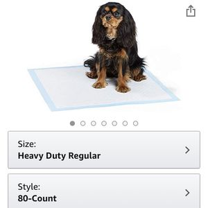 Amazonbasics Dog And puppy Pee, Training Pads HeavyDuty absorbent for Sale in Downey, CA