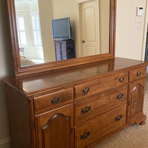 Bedroom Dresser With Mirror for Sale in Raleigh, NC