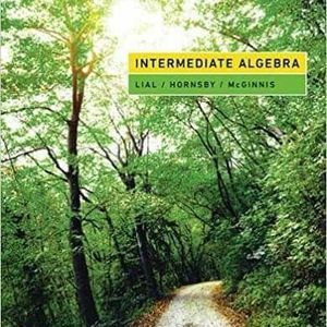 Intermediate Algebra 13th Edition by John Hornsby, Terry McGinnis, Margaret L. Lial 9780134996752 eBook PDF free instant delivery Pearson for Sale in Ontario, CA