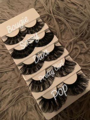 Fluffy Mink Lashes for Sale in Durham, NC