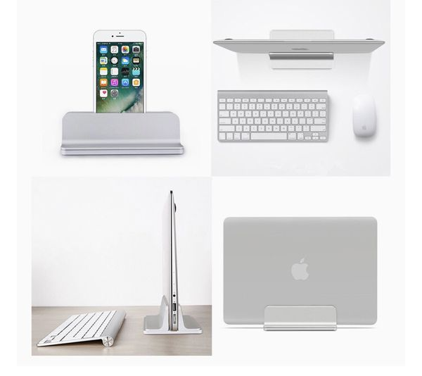 ORANGEHOME Laptop Stand,Vertical Desktop Holder with Adjustable Dock Size,Laptops Holder Compatible with All Notebooks, MacBook,Surface,Dell,Gaming,