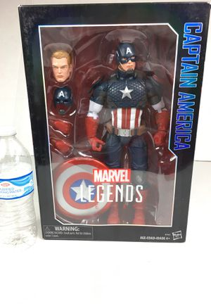 Marvel legends captain America avengers 12 inch figuring Spiderman Iron Man Black Panther wonder woman for Sale in La Habra, CA