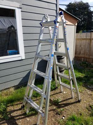 Werner multi use ladder for Sale in Everett, WA