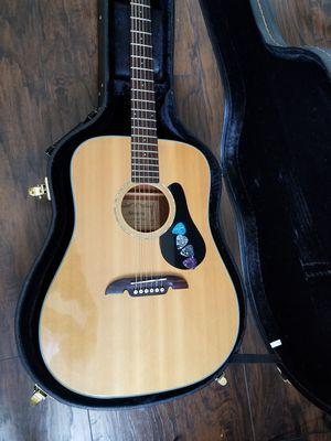 Alvarez Acoustic Guitar ( with case and picks) for Sale in Miami, FL