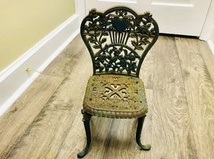 Salesman Sample Cast Iron Chair for Sale in Brandon, MS