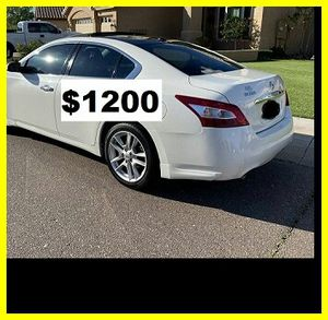 Only$1200 MaximaNissan2009 for Sale in Washington, DC