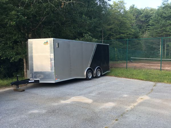 20 x 8.5 Covered Wagon Trailer