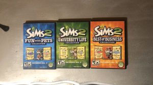 Sims 2 computer games for Sale in Fort Worth, TX