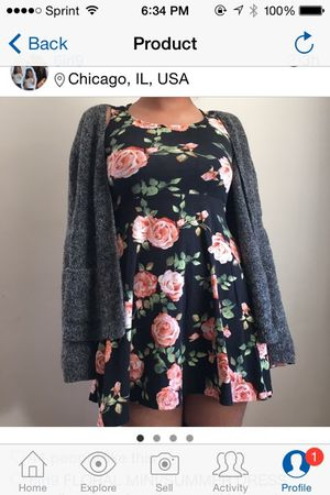 Floral dress xs-small for Sale in Chicago, IL