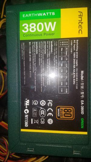 Ante 380 watt power pack for desktop computer. for Sale in Denver, CO