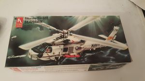 4 VINTAGE HELICOPTER AND PLANE MODEL KITS for Sale in Seattle, WA