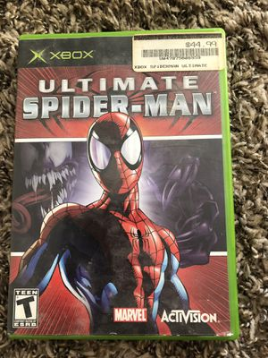 Xbox 1 spider man video game for Sale in Claremont, CA