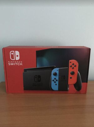 Nintendo Switch with Neon Red and Neon Blue Joy Con V2 32GB for Sale in Queens, NY