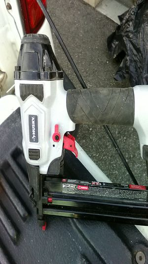 Husky 18 inch finish nail gun for Sale in Lakewood, CA