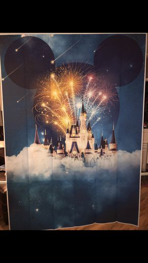 Disney Photo Booth Backdrop for Sale in Joint Base Lewis-McChord, WA