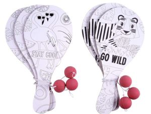 Safari Color-In Paddle Ball Raquette Set by Creatology for Sale in West Park, FL