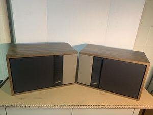 Bose 301 Series II Walnut Grain Veneer Direct Reflecting Speaker Pair for Sale in Wyomissing, PA