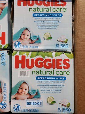 Huggies natural care baby wipes $15 each for Sale in Santa Ana, CA