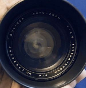 Minolta Camera Lens 75mm-260mm 1:45 auto zoom for Sale in Issaquah, WA