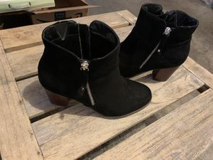 Torrid black suede ankle boots for Sale in Tacoma, WA