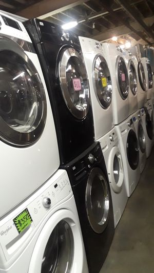 Front load washer and dryer set excellent condition for Sale in Baltimore, MD