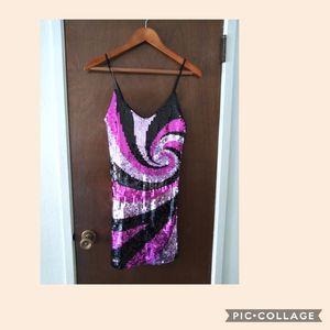 Sequin dress Size M for Sale in San Bernardino, CA