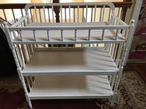 Changing table with pad like new for Sale in Falls Church, VA