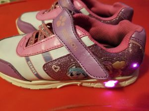 Girls size 12 Pink Light up Paw patrol shoes for Sale in Pembroke Pines, FL