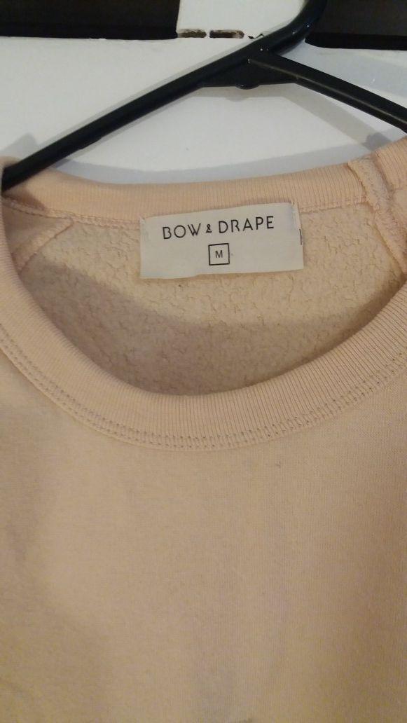 (PENDING PICK UP) FREE Bow & Drape peach sweater